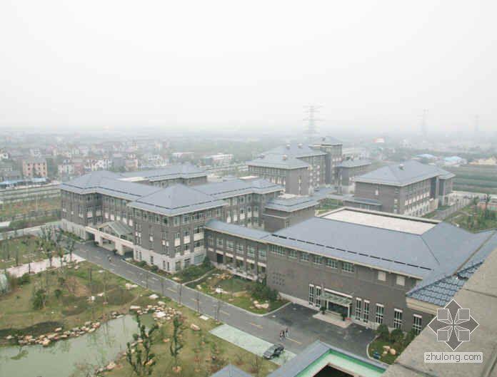 杭州某大学教学楼创钱江杯汇报材料(2009年)