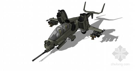 战斗机SketchUp模型下载