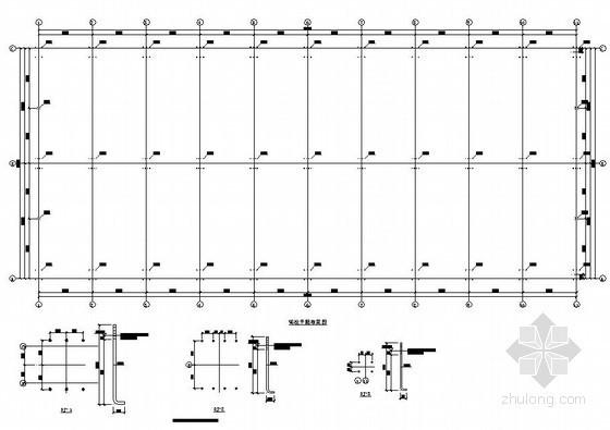 某带吊车钢结构厂房结构施工图