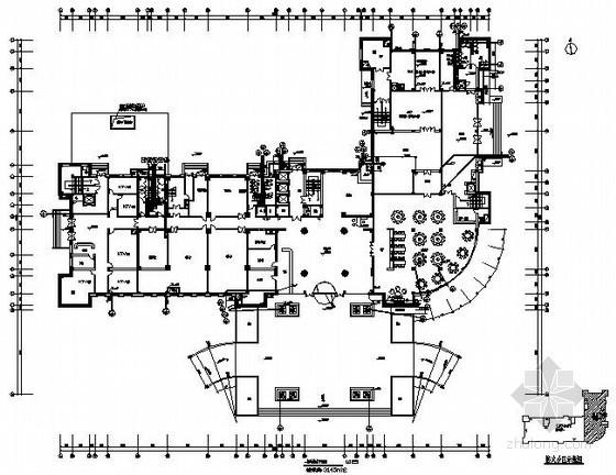 某酒店外商接待中心给排水施工图