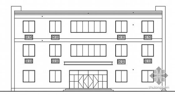 [宁波]某三层乡村小办公楼建筑结构施工图
