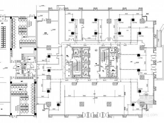 [安徽]综合交通客运站工程空调及防排烟系统设计施工图(多联空调机组)