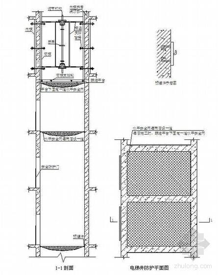北京某高层办公楼施工组织设计(鲁班奖 长城杯金杯 钢骨组合框架 总承包 )