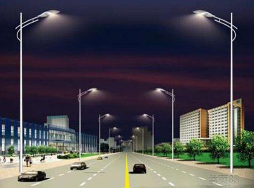 咸阳市兰池大道路灯照明工程施工组织设计_1