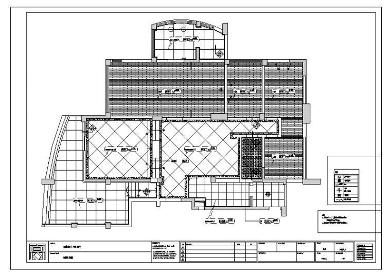 武汉东湖天下F户型现代风格室内设计施工图