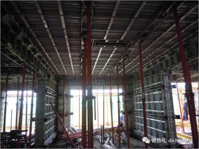 某建筑工地标准化施工现场观摩图片(铝模板的使用),值得学习借鉴_9