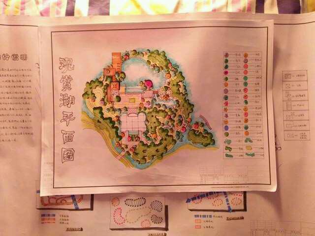 延安市西北川公园设计,红飘带广场_2