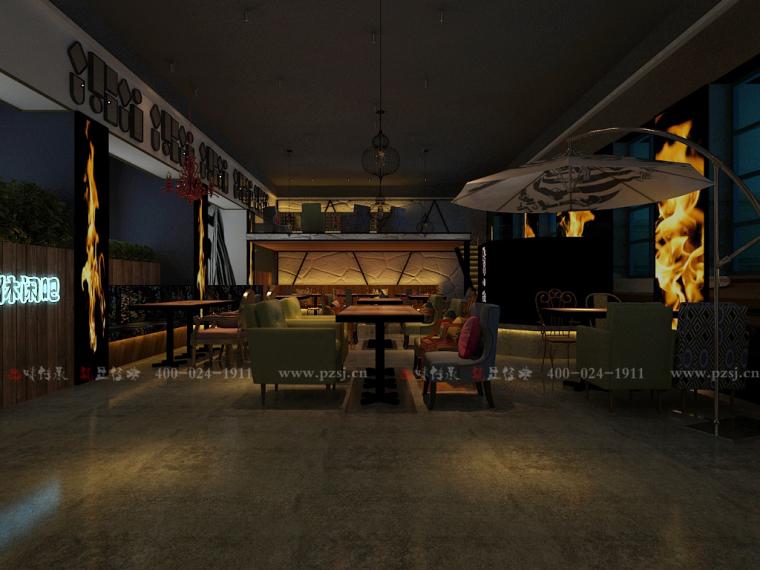 沈阳市中山路热情的斑马艺术休闲吧设计项目效果图震撼来袭-7.jpg