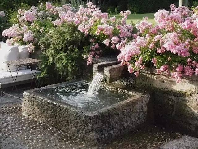 他只花了500元,就打造了一个高质量的庭院水景