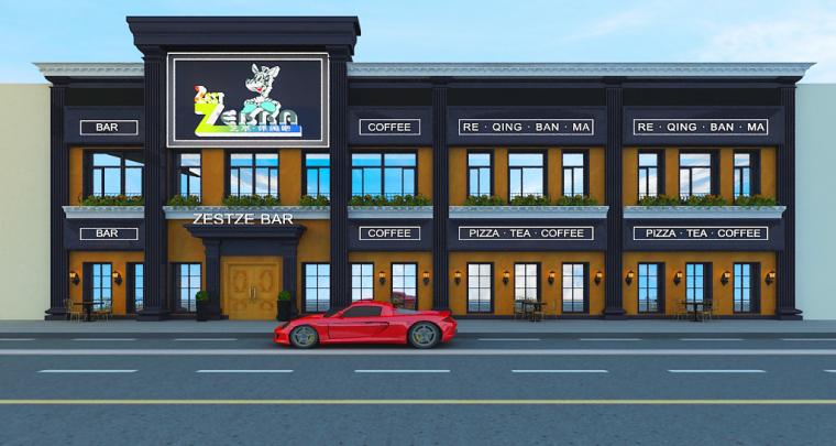 [休闲吧设计]沈阳市中山路热情的斑马艺术休闲吧项目设计-c1.jpg