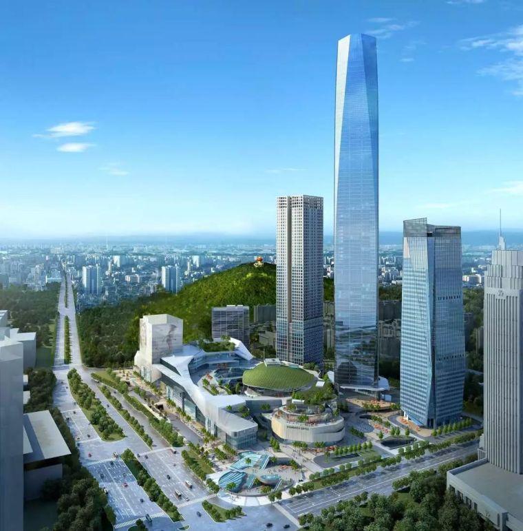 [建筑人]2天1层!东莞第一高楼创造了超高层核心筒新速度!