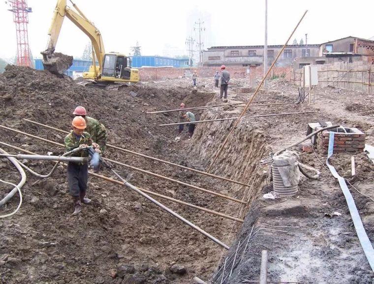 小桩复合土钉墙在基坑工程中的应用