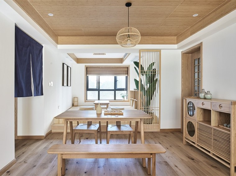 九龙日式风格的居住空间