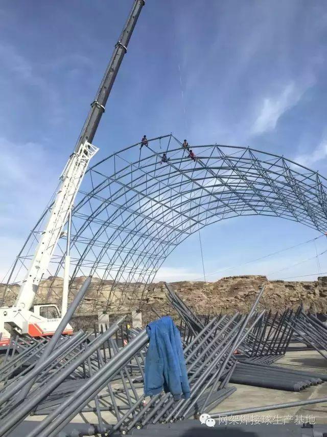 纯干货!钢结构网架吊装施工全方位解析!