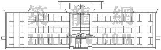 某公司办公质检楼建筑设计方案