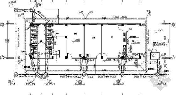某水厂综合楼建筑给排水施工图