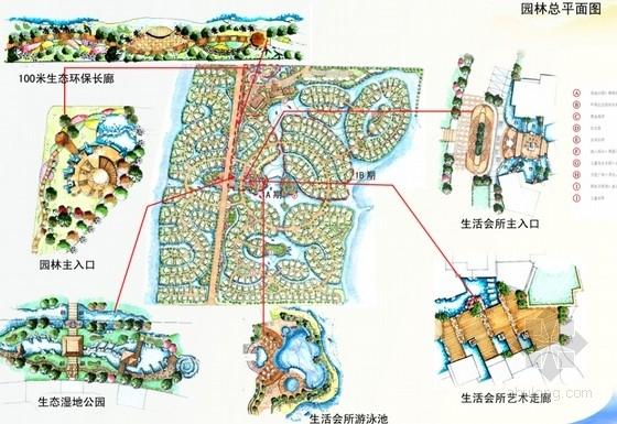 国际高尔夫别墅区园林扩初设计方案