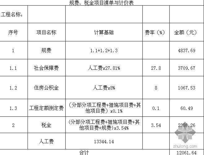 [课程设计]办公室通风空调系统工程量清单及计价(图)