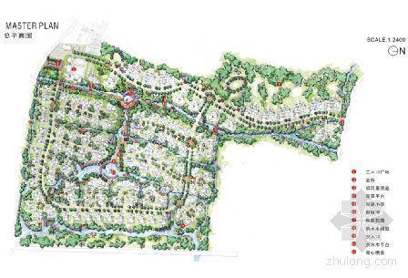 四川高尔夫别墅区景观概念设计