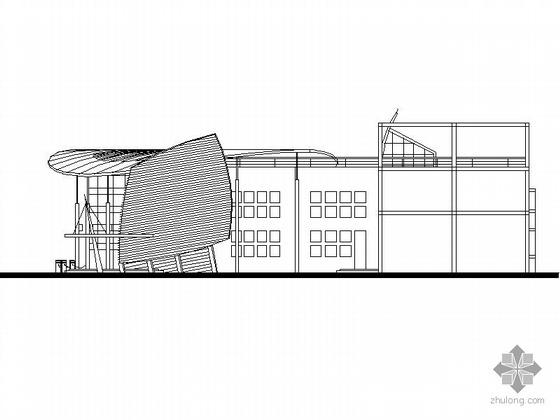 某現代二層會所建筑設計方案