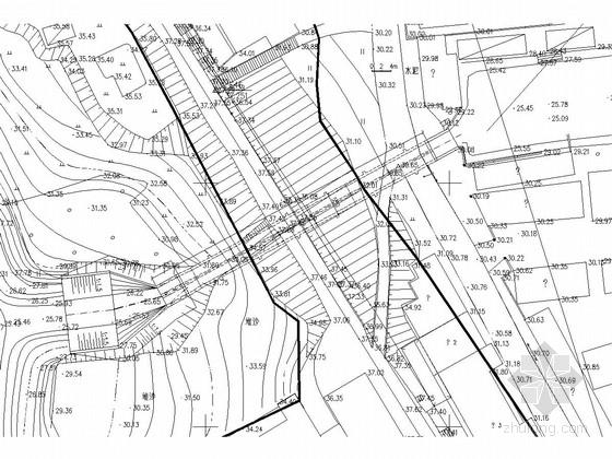 [湖南]蓄洪垸堤防加固水闸工程施工图
