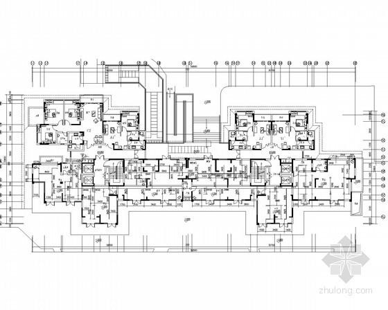 [四川]安置房项目给排水消防施工图(系统图详尽)
