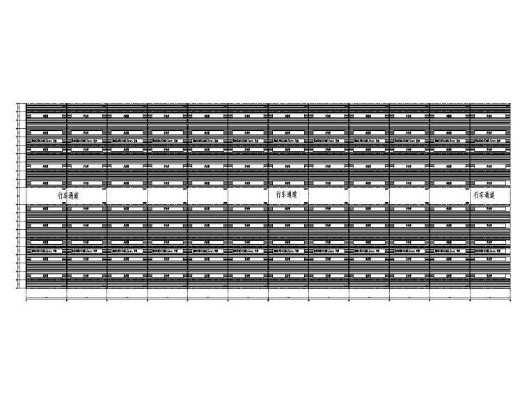 钢结构原料仓库简易棚施工图