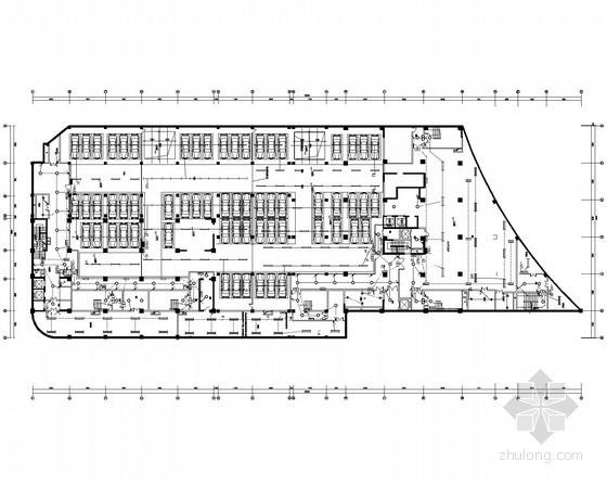 [河南]商业广场商住楼电气全套施工图(甲级院设计)