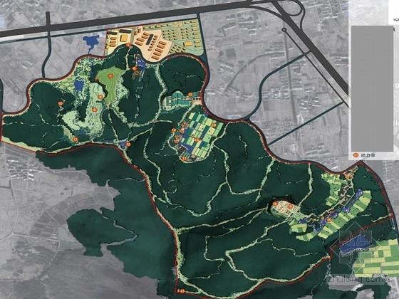 [江苏]山地生态特色运动公园景观规划设计方案(北京著名公司)