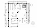 全球性资讯科技公司现代展厅装修施工图(含效果)