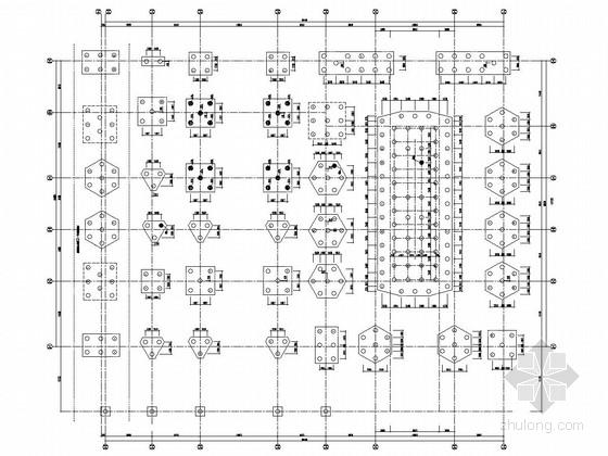 [武汉]21层框架剪力墙结构五星级大酒店结构施工图