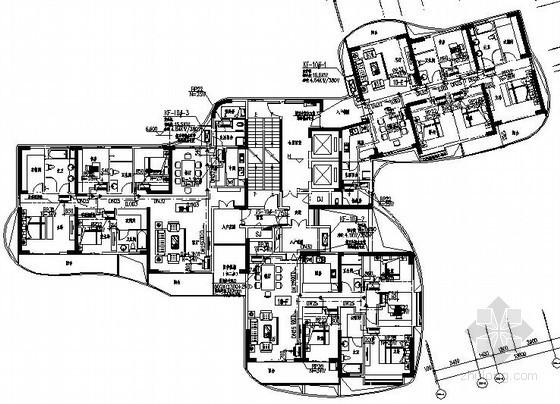 [广东]高层住宅建筑通风排烟系统设计施工图(含幼儿园)