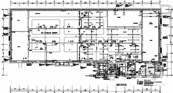 车间空调通风设计施工图