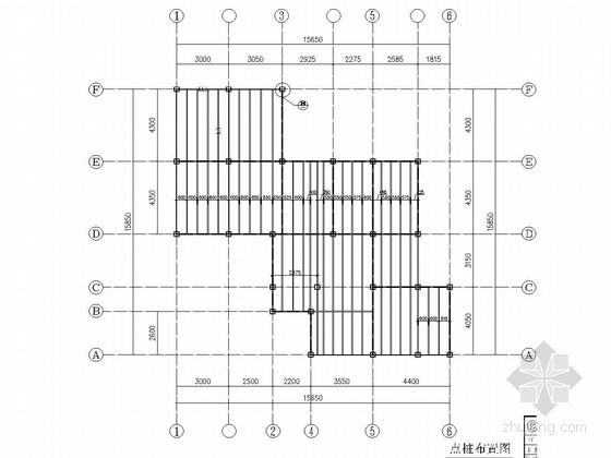 C型薄壁轻钢住宅结构施工图