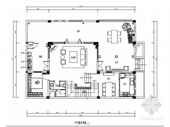[四川]新中式风格三层别墅室内装修施工图(含高清实景图)