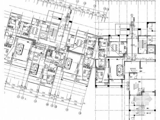 [江苏]多栋高层住宅室内采暖通风系统设计施工图(含给排水系统设计)