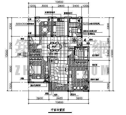 四室两厅两卫装修图