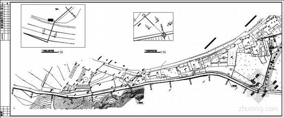 市政污水压力管线全套施工图纸