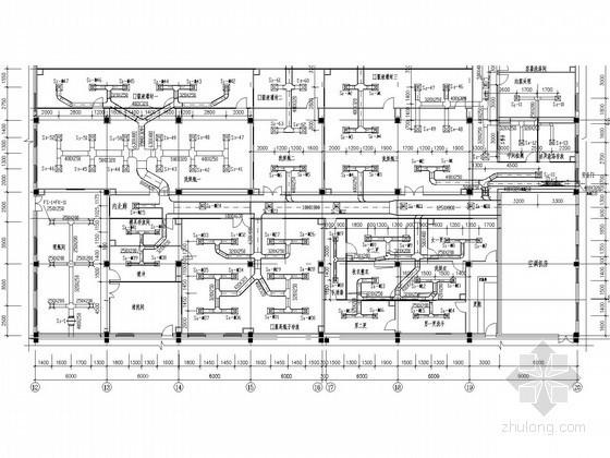 [江西]综合制剂楼净化空调系统设计全套施工图(含风量表)