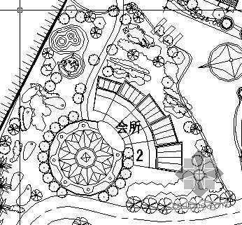 海安县某小区总平规划图