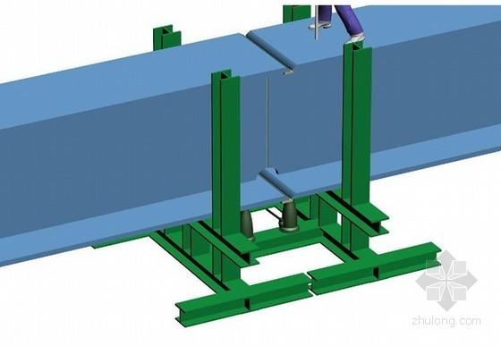 大跨度蜂窝型钢梁加工及安装施工工法