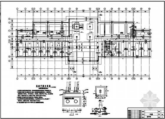 焦作某框架厂房改造成酒店结构设计图