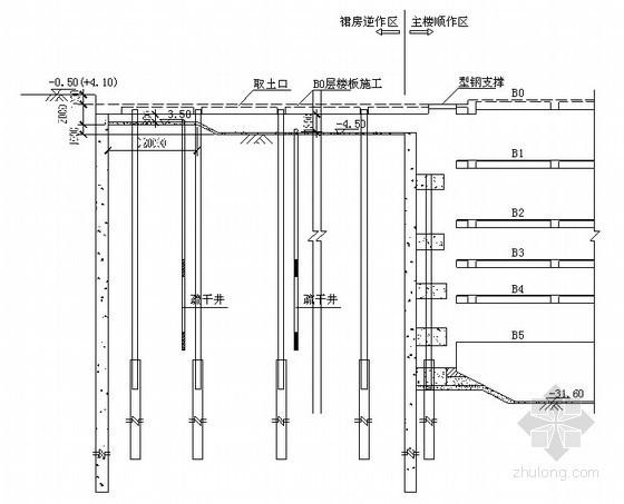 上海某高层大厦地下室结构工程施工组织设计