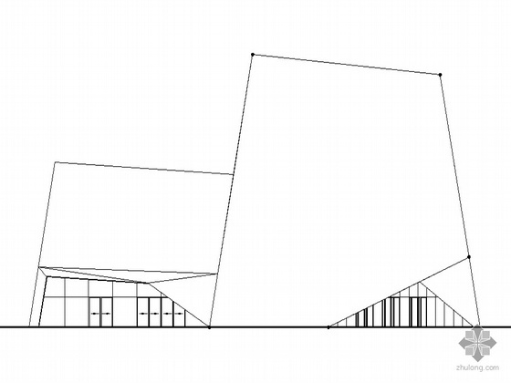 2010年上海世博某东欧国家场馆建筑方案图(含效果图及设计说明)