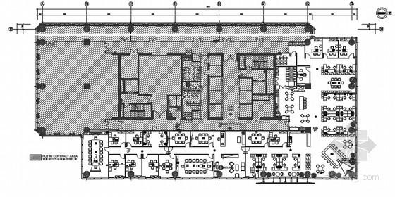 [北京]办公室强弱电施工图纸