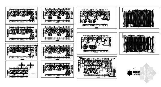 万科高层住宅楼建筑方案图-4