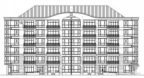 长春某六层住宅楼建筑设计施工图