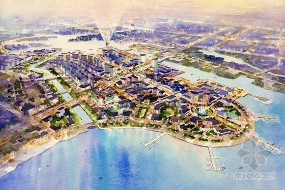 [天津]大型城市综合体规划及单体设计方案文本