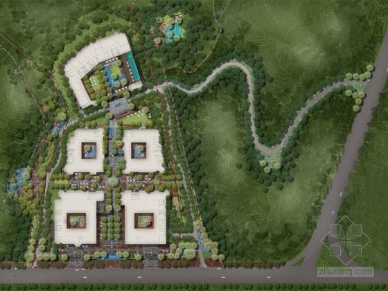 [广东]岭南风格国际旅游小镇文化养生园景观规划设计方案(著名景观设计公司)