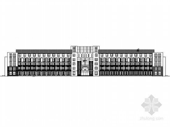 [唐山]某五层敬老院建筑设计方案